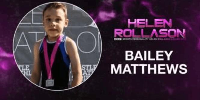 Helen Rollason Award Winner 2015