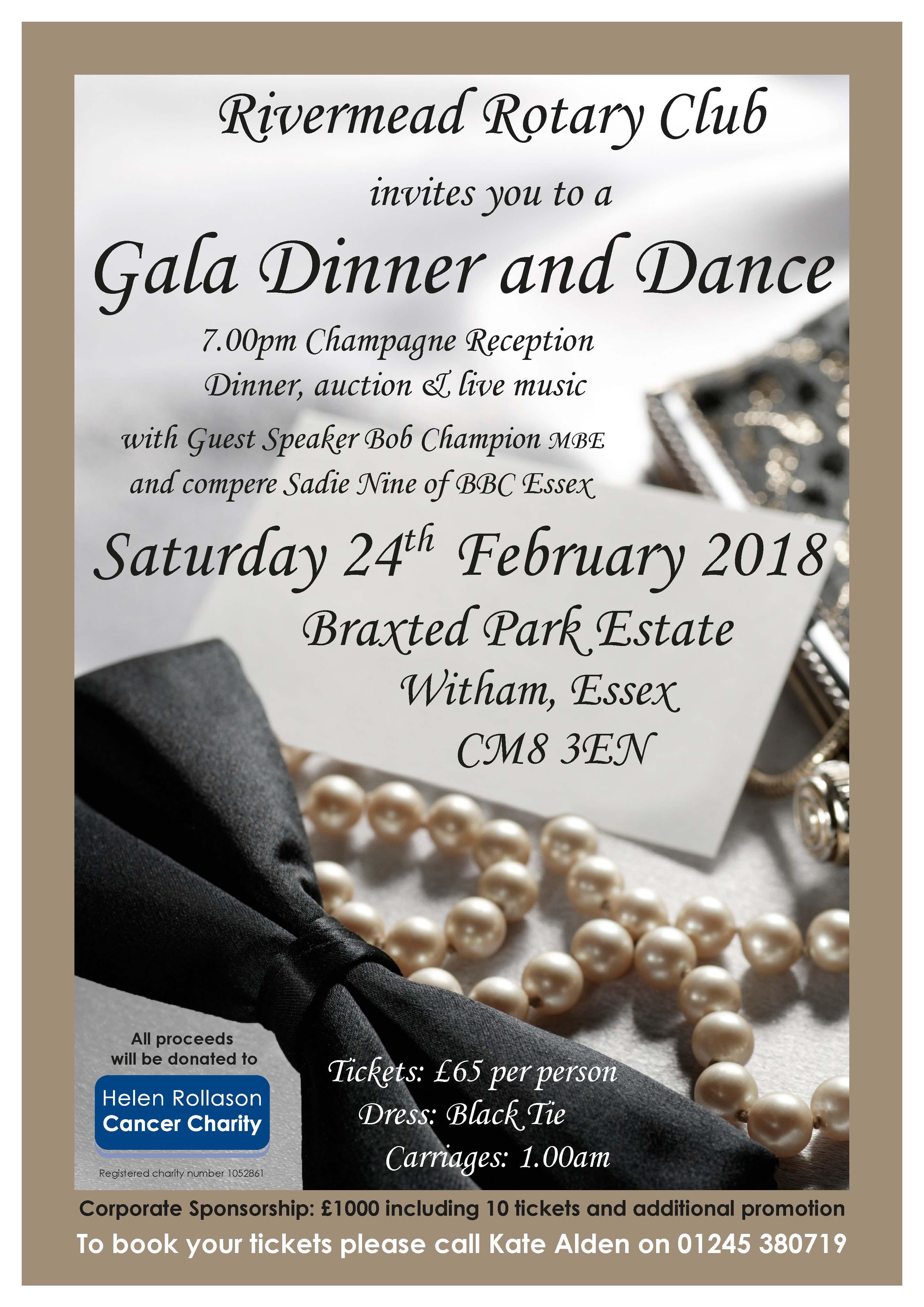 Gala Dinner & Dance 24 Feb 2018