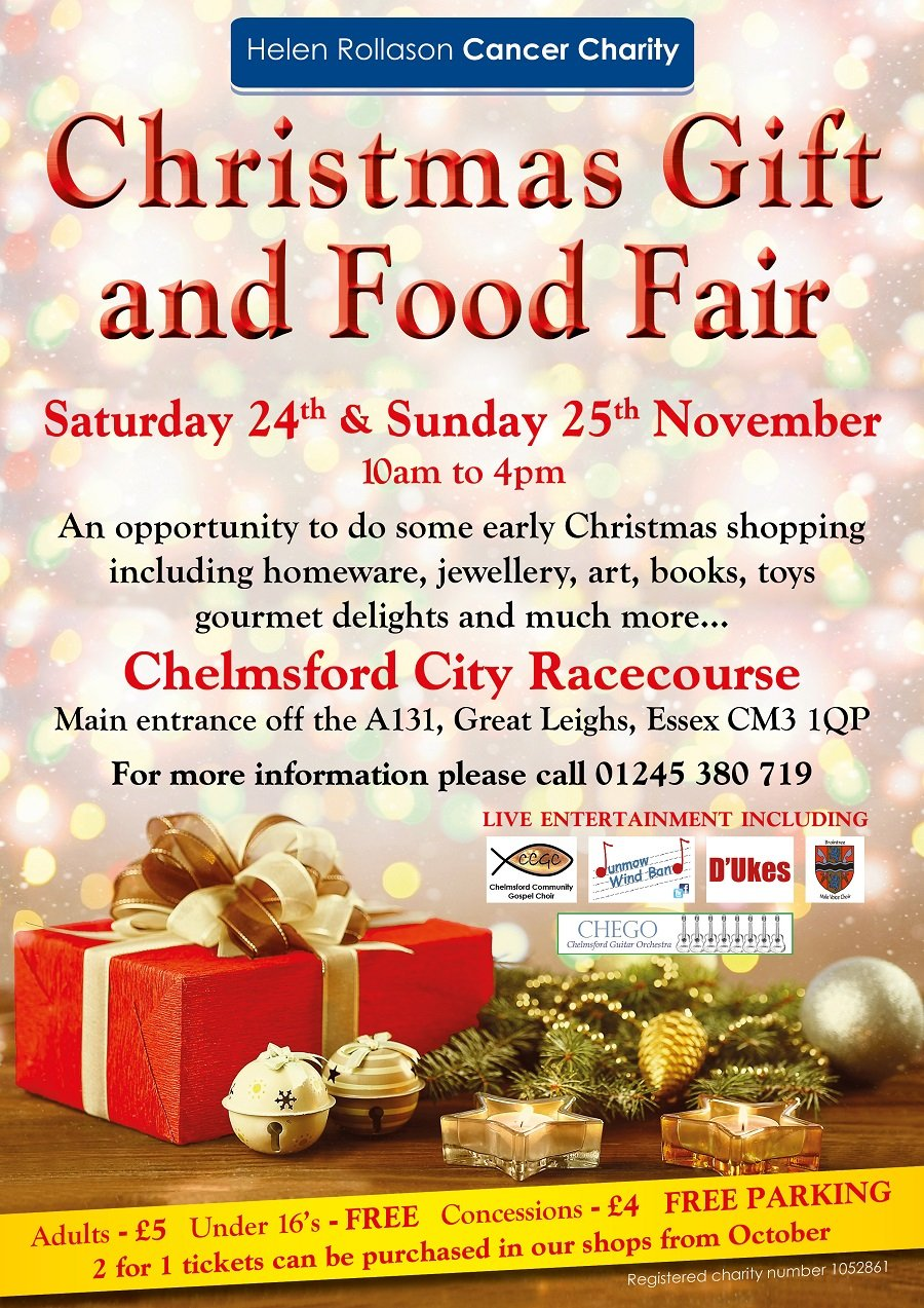 <b>Christmas Gift</b> &amp; <b>Food</b> Fair - Saturday 24th November and Sunday ...