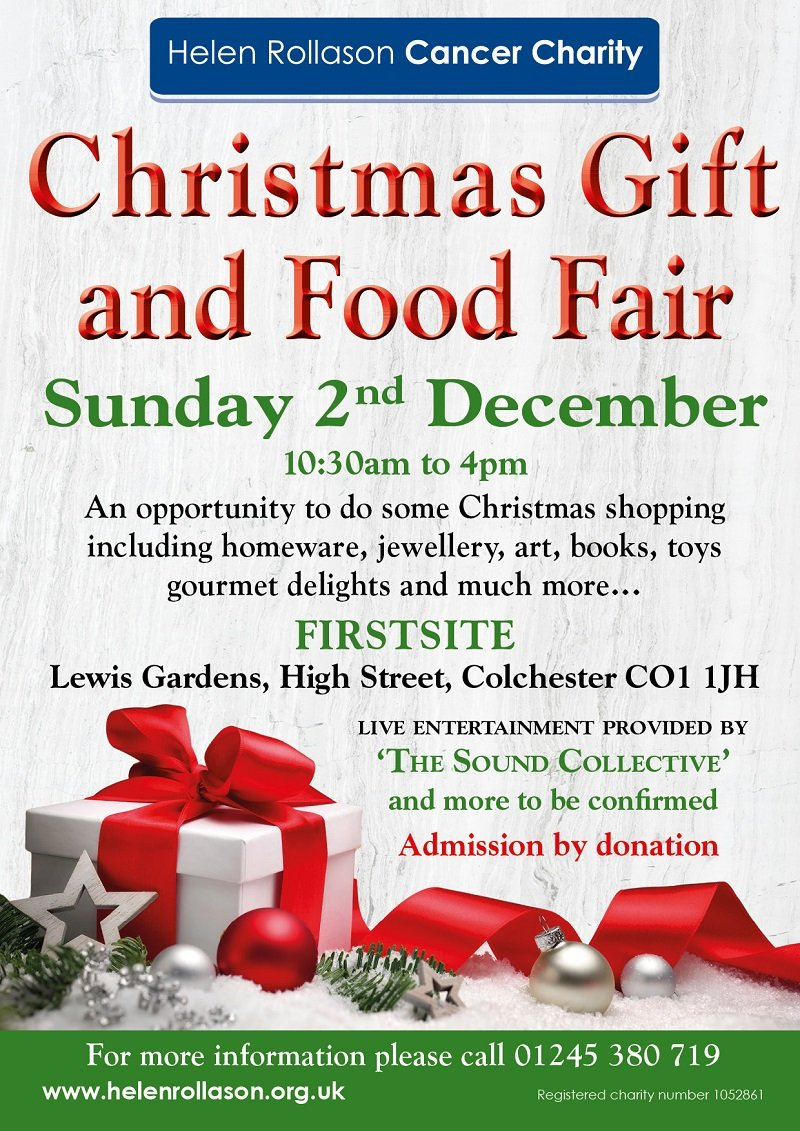 <b>Christmas Gift</b> and <b>Food</b> Fair - Sunday 2nd December <b>2018</b> - Helen ...