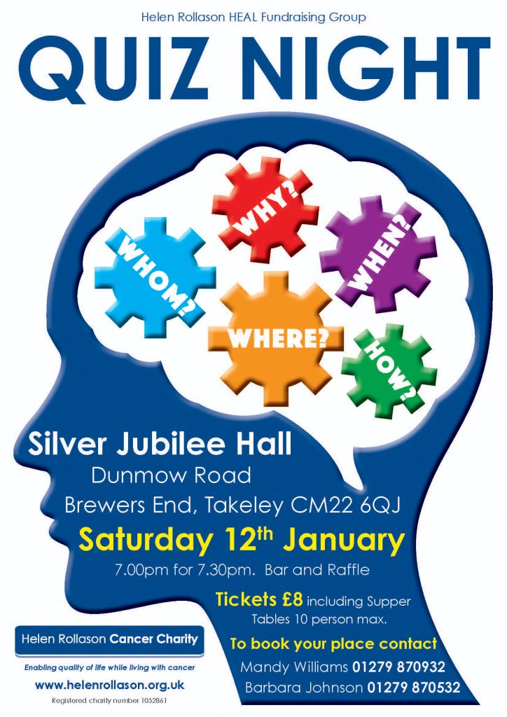 Takeley Quiz 2019