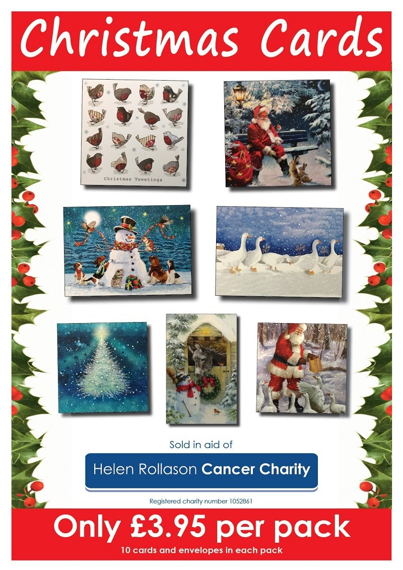 Helen Rollason Cancer Charity Christmas cards on sale now! - Helen ...