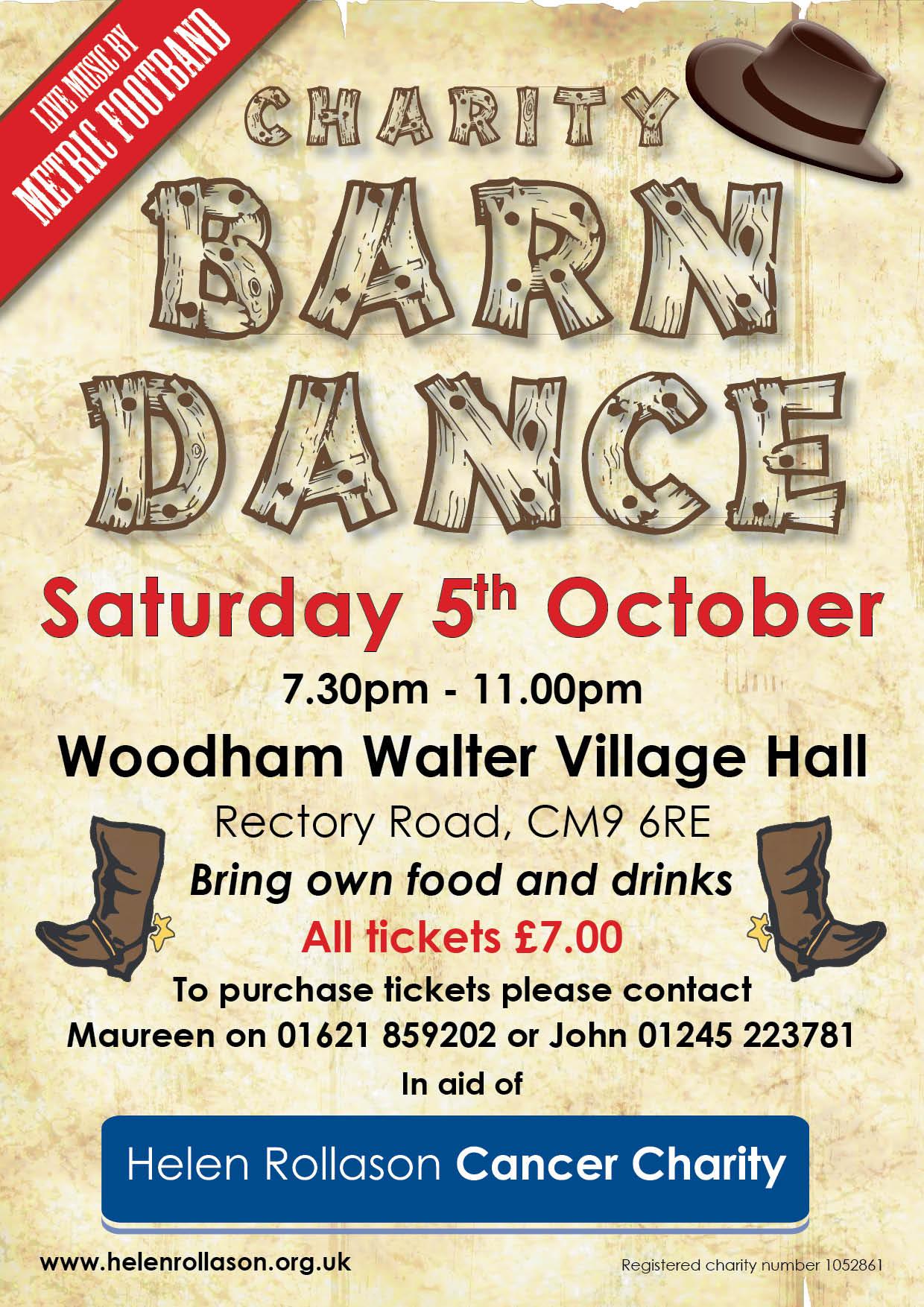 Barn Dance - Woodham Walter October 2019