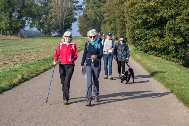 Walkers enjoying the beautiful countryside (2)